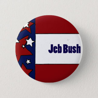 Jeb Bush Political Designs 2 Inch Round Button