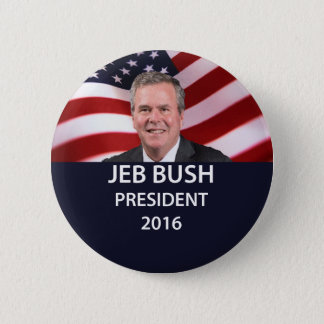 Jeb Bush President 2016 Button