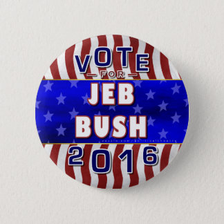 Jeb Bush President 2016 Election Republican 2 Inch Round Button