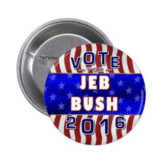 Jeb Bush President 2016 Election Republican 2 Inch Round Button