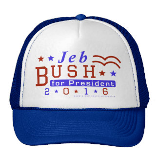 Jeb Bush President 2016 Election Republican Trucker Hat