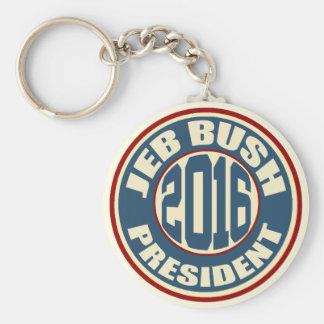Jeb Bush President 2016 Keychain