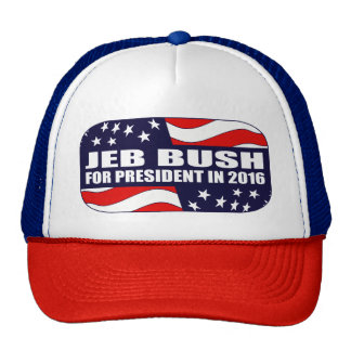 Jeb Bush President 2016 Trucker Hat
