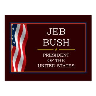 Jeb Bush President V3 Postcard