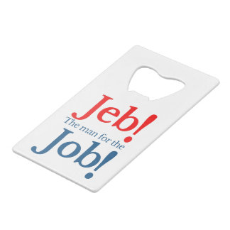 Jeb Bush Presidential Candidate 2016 Wallet Bottle Opener