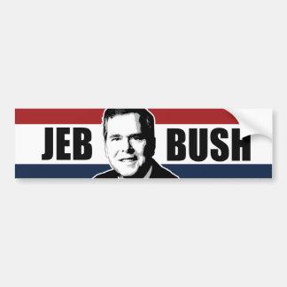 Jeb Bush Red White and Blue Bumper -.png Bumper Sticker