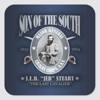 JEB Stuart (SOTS2) Square Sticker