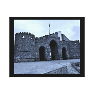 Jeddah Gate Canvas Print