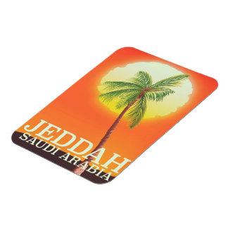 Jeddah Saudi Arabia Vacation poster Magnet