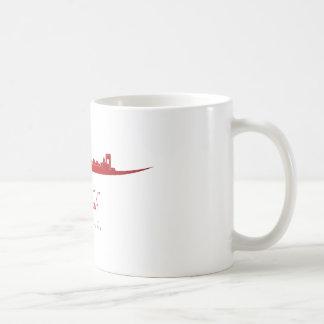 Jeddah skyline in network coffee mug