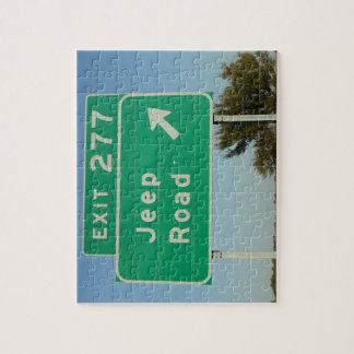 Jeep Road Sign Puzzle