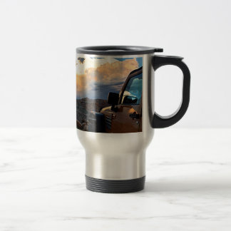 Jeep Sunset Travel Mug