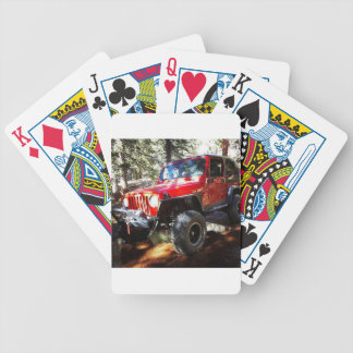 Jeeplife Bicycle Playing Cards