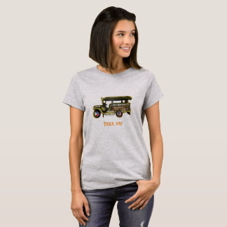 Jeepney - Hollywood, Los Angeles T-Shirt