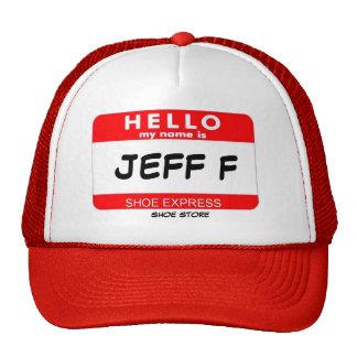 JEFF F TRUCKER HAT
