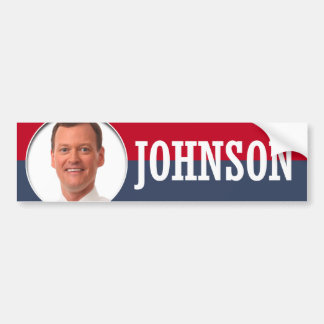 JEFF JOHNSON CAMPAIGN BUMPER STICKER