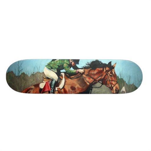 "Jeff Oehmen ""Horse Jump"" Skate Deck"
