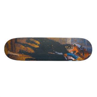 """Jeff Oehmen """"Race"""" Skateboard"""