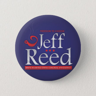 Jeff Reed for Congress 2 Inch Round Button