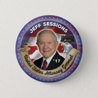 Jeff Sessions Attorney General 2 Inch Round Button