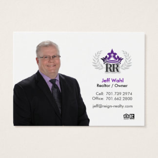 Jeff Wahl Business Card