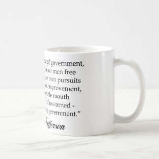 Jefferson: A Wise & Frugal Government Coffee Mug