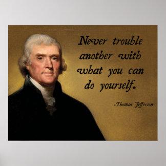 Jefferson Advice Poster
