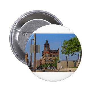 Jefferson and Ontario- horizontal 2 Inch Round Button