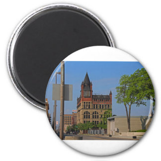 Jefferson and Ontario- horizontal 2 Inch Round Magnet