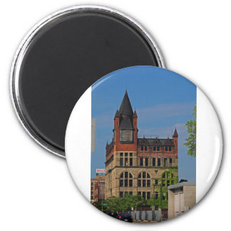 Jefferson and Ontario-vertical 2 Inch Round Magnet