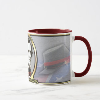 Jefferson Davis Civil War Mug