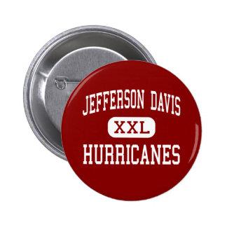 Jefferson Davis - Hurricanes - West Palm Beach Button