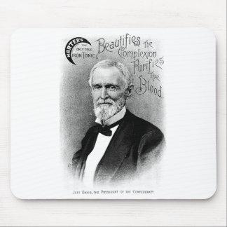 Jefferson Davis Vintage Advertisement Mouse Pad