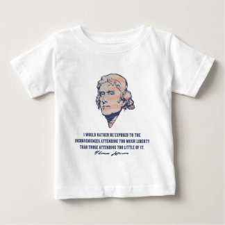Jefferson Liberty II Baby T-Shirt