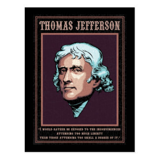 Jefferson -Liberty Postcard