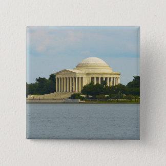 Jefferson Memorial in Washington DC 2 Inch Square Button