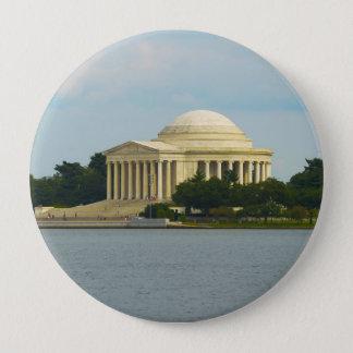 Jefferson Memorial in Washington DC 4 Inch Round Button