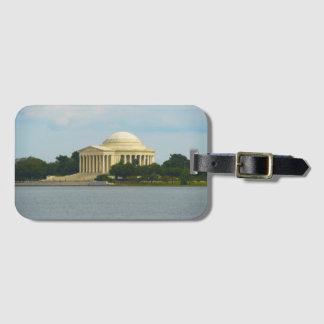 Jefferson Memorial in Washington DC Bag Tag