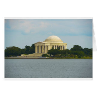 Jefferson Memorial in Washington DC Card