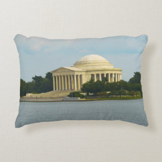 Jefferson Memorial in Washington DC Decorative Pillow