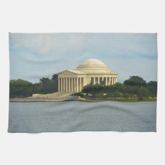 Jefferson Memorial in Washington DC Hand Towel