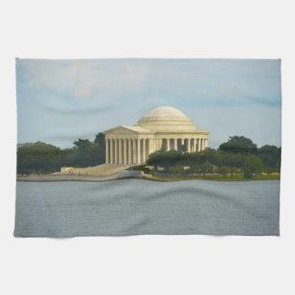 Jefferson Memorial in Washington DC Kitchen Towel