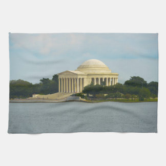 Jefferson Memorial in Washington DC Kitchen Towel