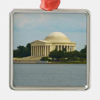 Jefferson Memorial in Washington DC Metal Ornament