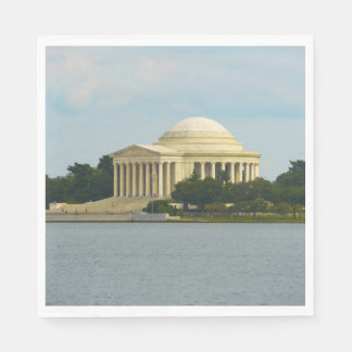 Jefferson Memorial in Washington DC Paper Napkins