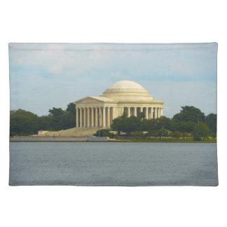 Jefferson Memorial in Washington DC Place Mats
