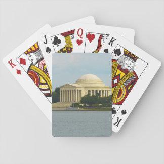 Jefferson Memorial in Washington DC Playing Cards