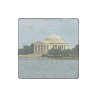 Jefferson Memorial in Washington DC Stone Magnets
