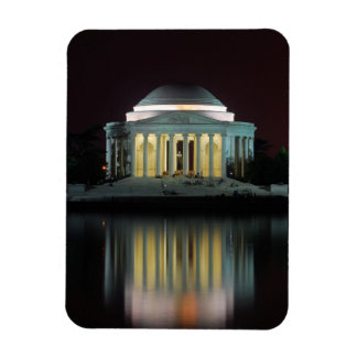 Jefferson Memorial Rectangular Photo Magnet