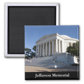 Jefferson Memorial Square Magnet